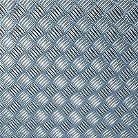 DC Fix 17.75 Inch x 4 ft. 9 Inch Silver Diamond Plate Decorative Vinyl Decal