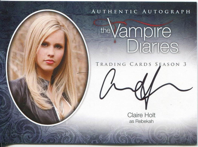 Vampire Diaries Season 3 Autogrammkarte A11 Claire Holt als Rebekah B00V4YY85Y Schön  | Verkaufspreis