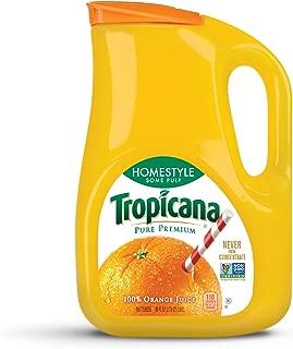 Tropicana, Orange Juice, Homestyle, Some Pulp, 89 oz
