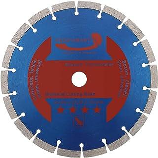Prodiamant Diamantskärskiva 230 x 22,2 mm, 10 mm lång livslängd segment betong, sten, tegel, diamant skiva universal 230 mm