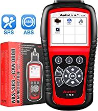 Autel AL619 Autolink Engine/ABS/SRS Warning Light,Quick Test On The Engine System,Read Codes,Erase Codes,Live Data,Freeze Frame,Retrieving I/M Readiness Status OBD2 Scanner Car Code Reader Automotive