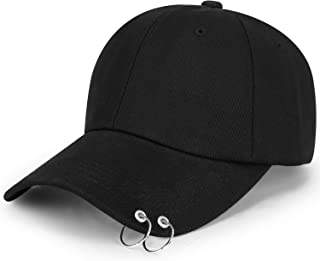 Kpop Wings Tour Jimin with Iron Rings Hats Love Yourself Snapback Baseball Cap Merchandise