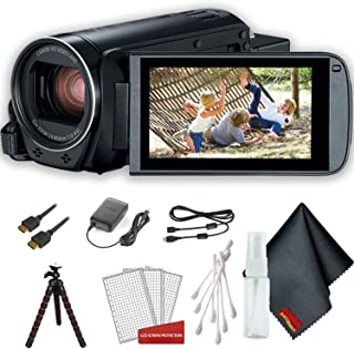 Dual Pack Bundle Compatible with Canon VIXIA Mini TrueVue Crystal Clear Digital Camcorder Screen Protector Lexerd