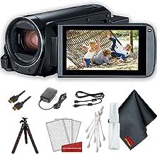 Canon VIXIA HF R800 Camcorder (Black) Basic Accessory Bundle