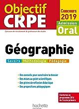 Livres Objectif CRPE Géographie 2019 PDF