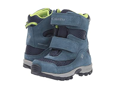 Columbia Kids Parkers Peaktm Boot (Toddler/Little Kid) (Collegiate Navy/Fission) Boys Shoes