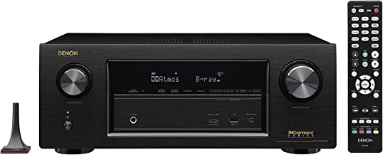 Denon AVR-X2300W-R 7.2 Channel Full 4K Ultra HD AV Receiver with Bluetooth (Renewed)