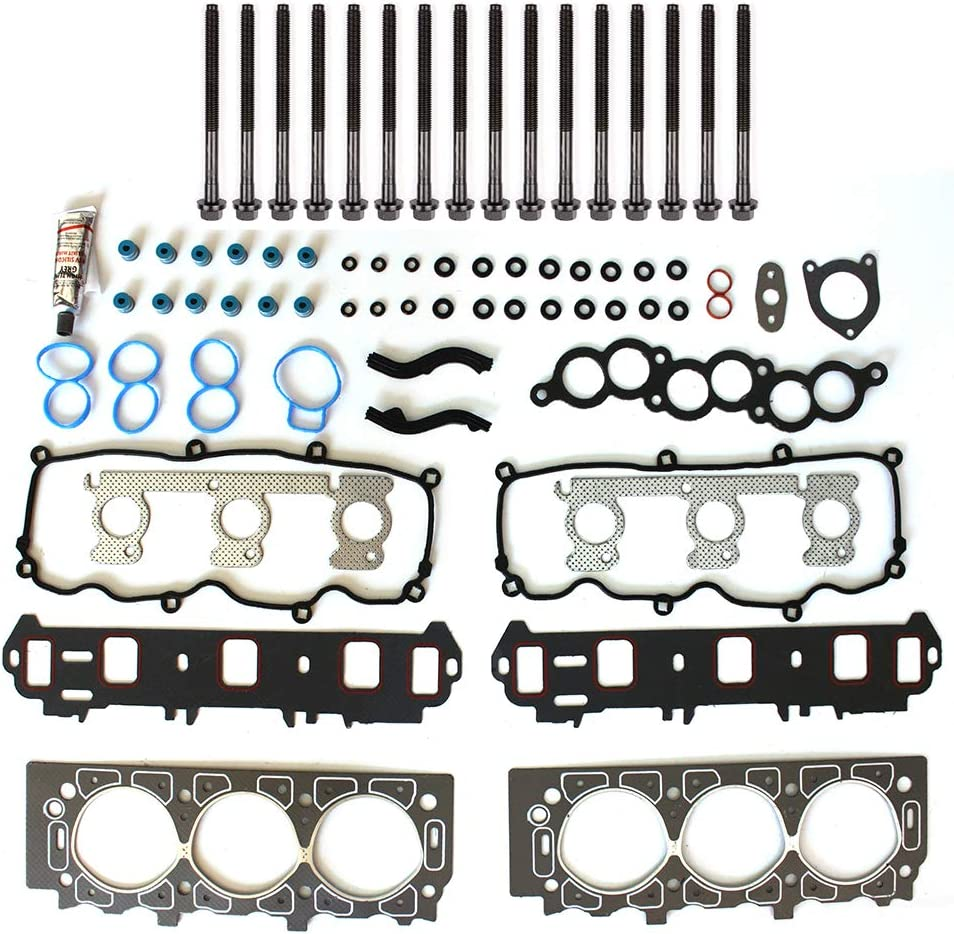 Max 63% OFF cciyu Engine Head Gasket Set w for ! Super beauty product restock quality top! Ford 01-07 Taurus Boltst