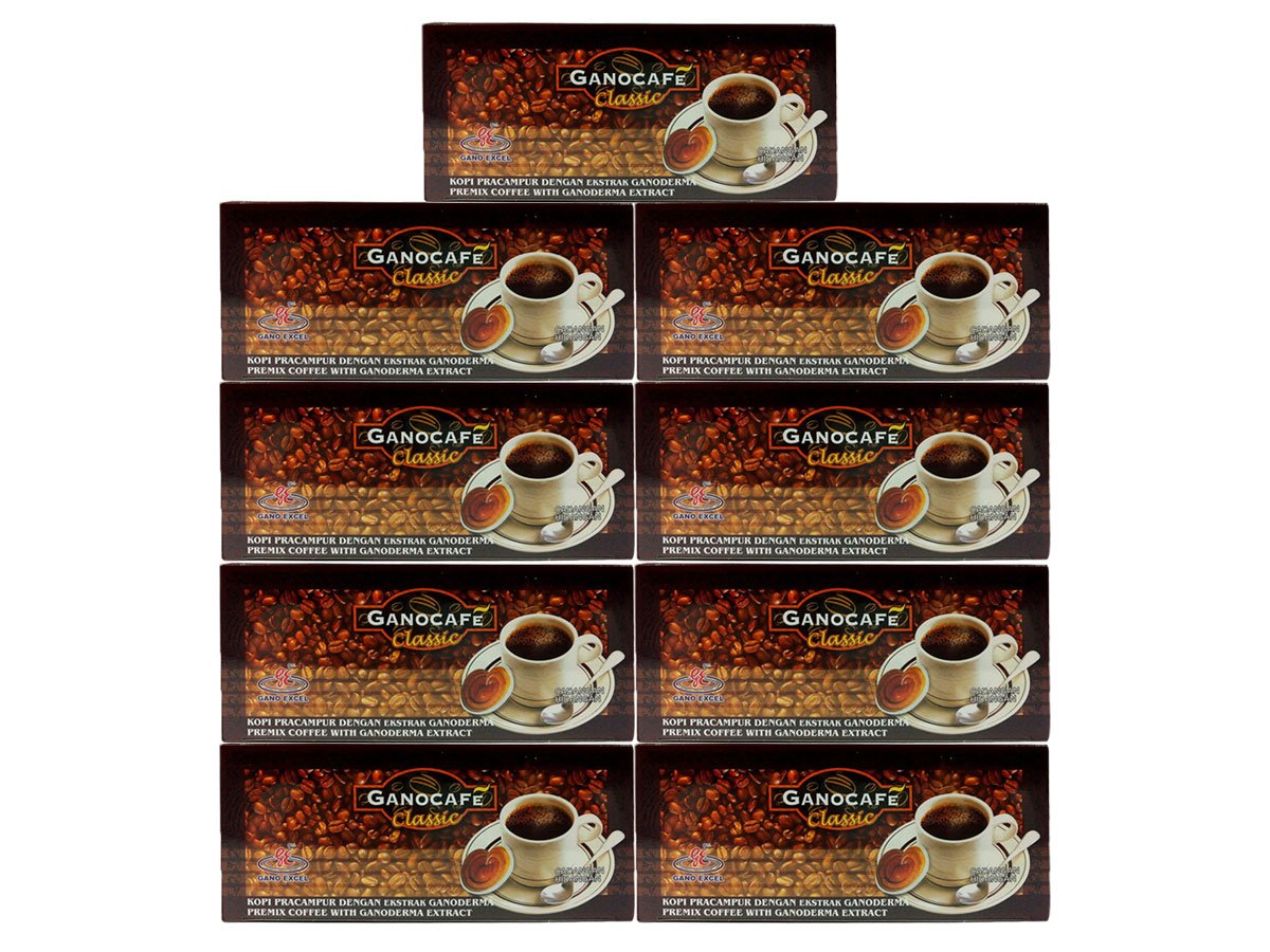 9 Boxes Gano Animer and price revision Cafe Austin Mall Excel Classic 30 Coffee Sachets