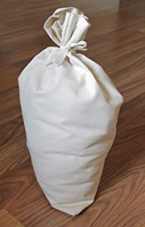 Canvas Money Bag Blank Bank Gift Deposit Transit Coin Sack Bags 12x19 Tie String