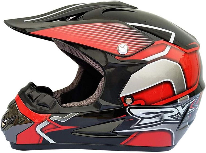 New popularity CHLDDHC Motorbike Motocross Don't miss the campaign Helmet + He Crash ATV Goggles Sports
