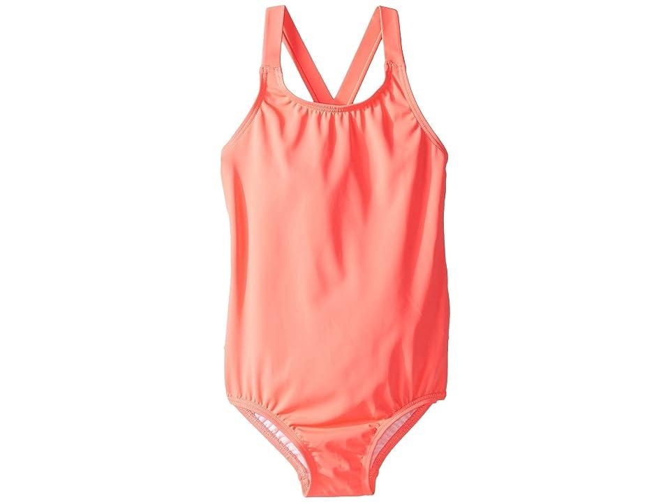 Seafolly Kids Sweet Summer Tank One-Piece (Infant/Toddler/Little Kids) (Watermelon Pink) Girl