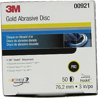 3m gold abrasive disc