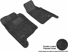3D MAXpider Front Row Custom Fit Floor Mat for Select Ford Ranger Models - Classic Carpet (Black)