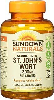 Sundown St. John's Wort Capsules 150 ea (Pack of 3)