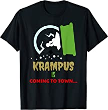 Krampus is Coming to Town This Christmas T-Shirt