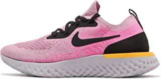 Nike Women's Epic React Flyknit Running Shoes(Pink/Purple,6.5,B (M) US)