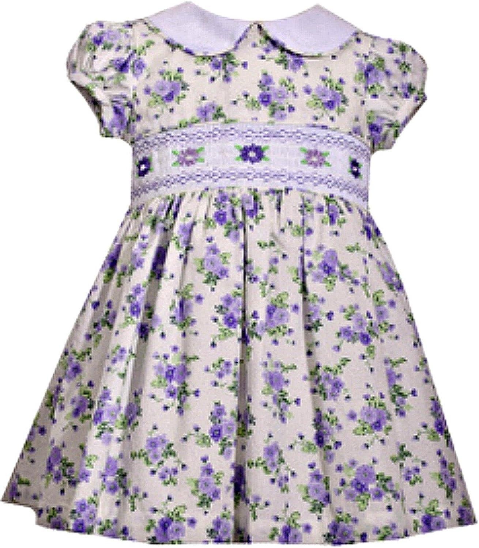 Bonnie Jean Girls' Collared Cotton Dress