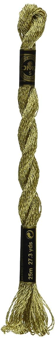 DMC Metallic Pearl Cotton Skeins Size 5 - 27.3 Yards-Gold