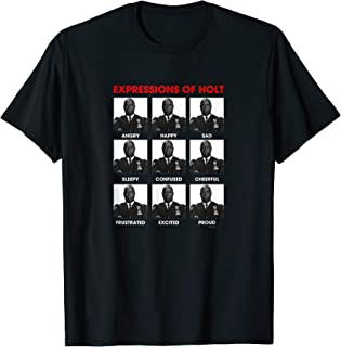 Brooklyn Nine-Nine Expressions of Holt T-Shirt