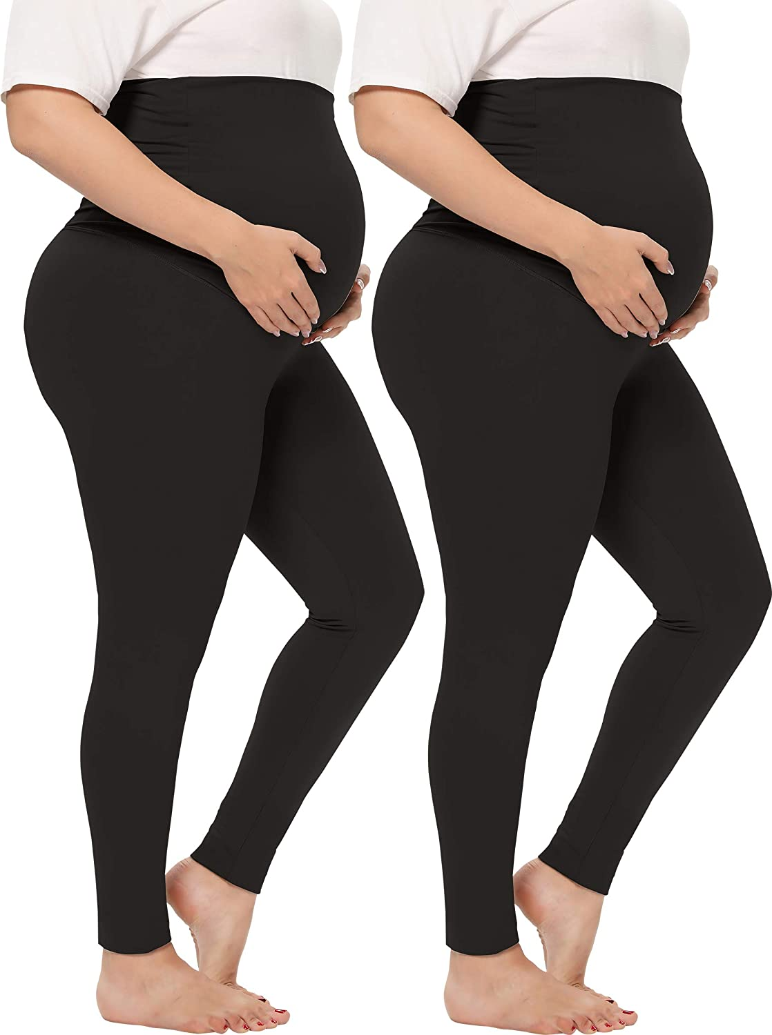 TOUCH LOOM Maternity Pants Over Belly Omaha Mall High Full Ranking TOP2 Waist
