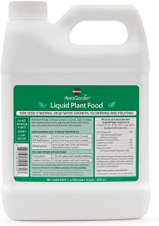 Best miracle gro aerogarden 1 quart liquid nutrients Reviews