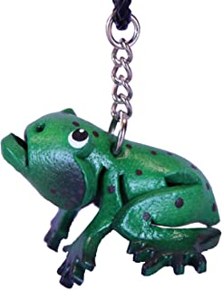 Anipals Charm Jewelry - Car Mirror Accessories - American Bullfrog Leather Hanging Automotive Ornament