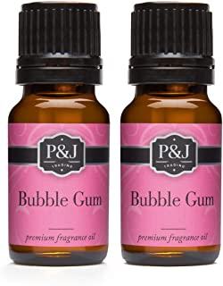 Bubble Gum Fragrance Oil - Premium Grade Scented Oil - 10ml - 2-Pack