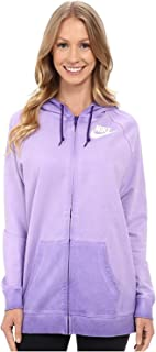 Women's Boyfriend Full Zip Wash Hoodie