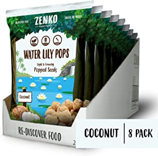 Water Lily Pops - Coconut (8-pack)