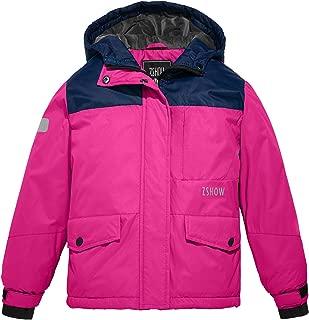 Girl's Outdoor Waterproof Parka Soft Fleece Ski Jacket