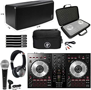 $418 » Pioneer DDJ-SB3 Starter Home DJ Controller, Bluetooth Speaker Headphones & Cases