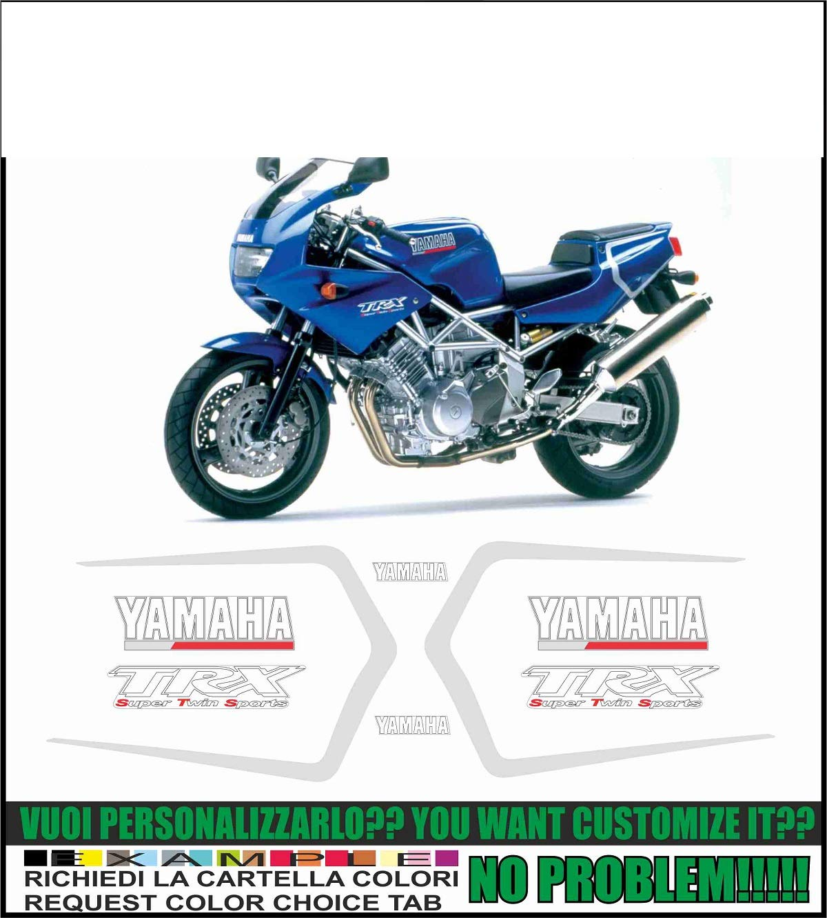 Kit adesivi Decal Stickers Yamaha TRX 850 1996: Amazon.es: Coche y moto