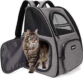 Vikbar transportryggsäck för husdjur.