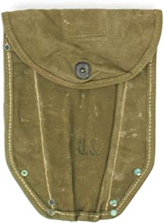 Original U.S. WWII M1943 Entrenching Tool Shovel Canvas Cover/Carrier