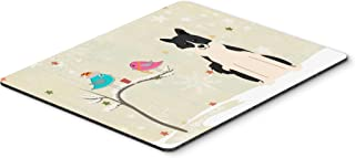Caroline's Treasures BB2501MP Christmas Presents Between Friends Russo-European Laika Spitz Mouse Pad, Hot Pad or Trivet, ...