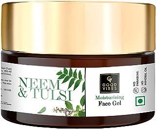 Good Vibes Moisturizing Face Gel - Neem & Tulsi (100 g)