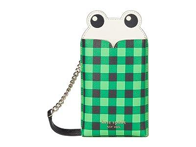 Kate Spade New York Frog Gingham Phone Crossbody
