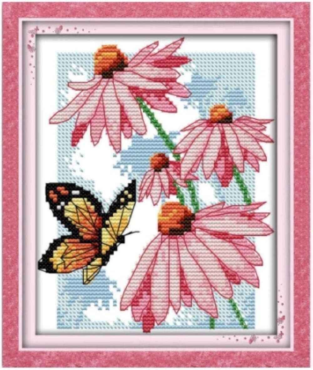 Full Fashion Range of Embroidery Starter Luxury Stamped Kits Stitch 11CT Cross