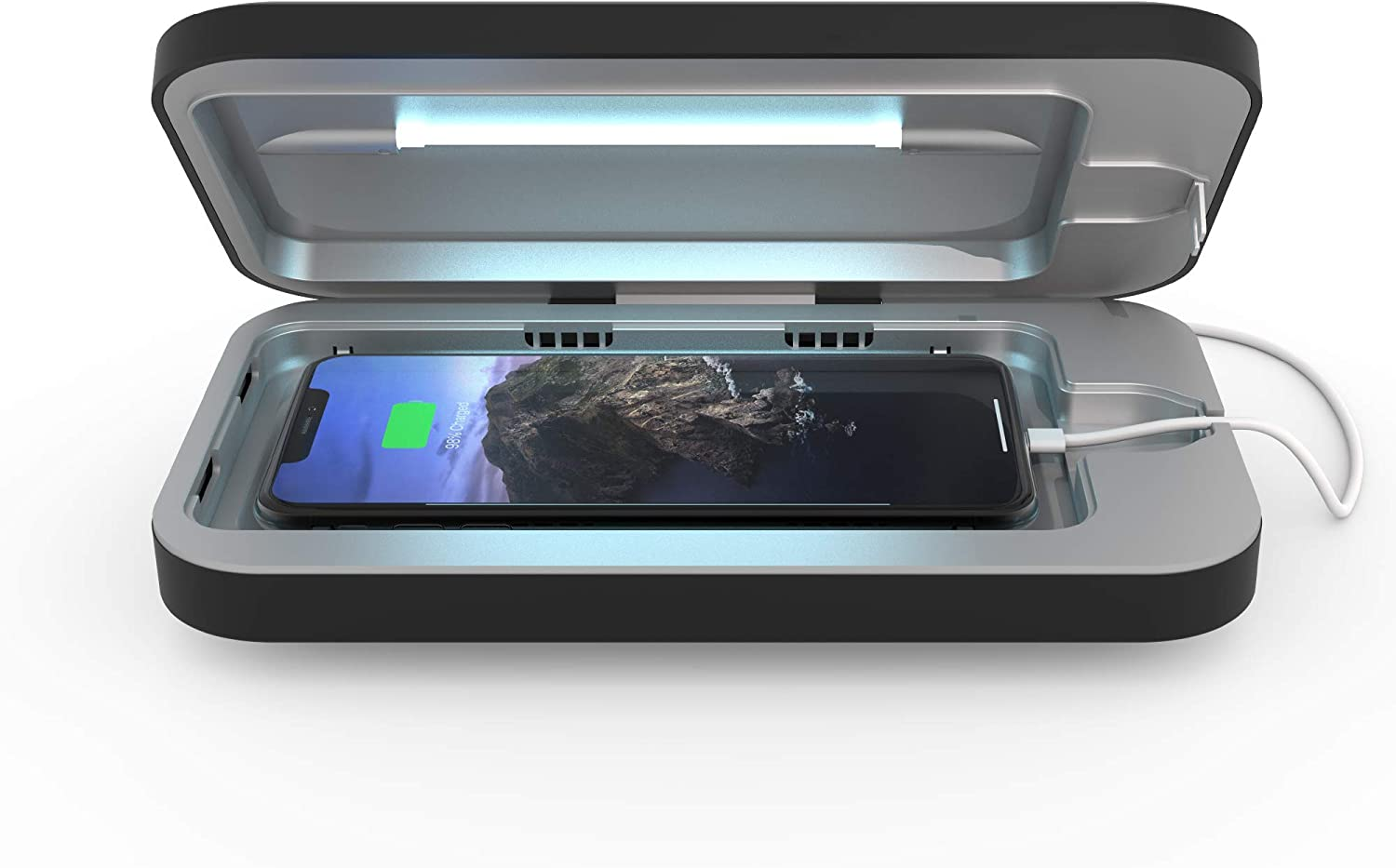 PhoneSoap 3 Dallas Mall UV Cell Phone and Dual Phon Sanitizer Omaha Mall Universal