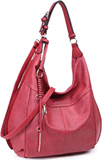 Womens Large Soft Hobo Bag Fashion Shoulder Bag Tote Purse