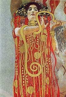 kunst für alle Art Print/Poster: Gustav Klimt Medizin Picture, Fine Art Poster, 25.6x37.4 inch / 65x95 cm
