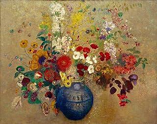 Kunst für Alle Reproduction/Poster: Odilon Redon Bouquet de Fleurs - Affiche, Reproduction Artistique de Haute qualité, 50...