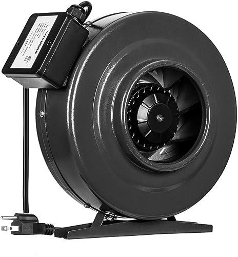 discount VIVOSUN 6 sale Inch 440 CFM Inline Duct Fan Vent Blower Ventilation Fan for Grow Tent ETL online Certified sale