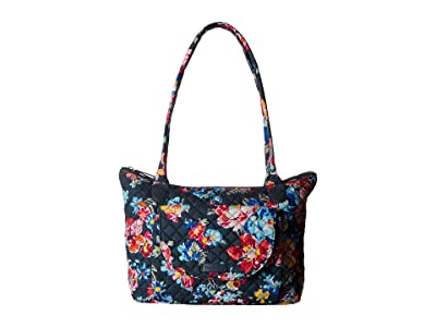 Vera Bradley Carson East/West Tote (Pretty Posies) Tote Handbags