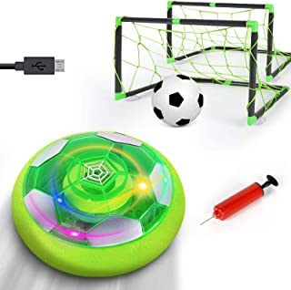 KingsDragon Kids Toys Hover Soccer Ball,Rechargeable Air...