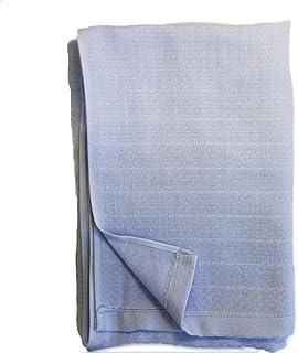 ガーゼ バスタオル 日本製「たおる屋さんが作る綿紗」 約60×125cm ガーゼ湯上げ 無地 ベビー 泉州タオル (パープル)