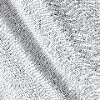 Fabric 6oz Pure Linen White Yard