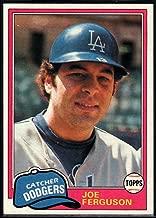 Baseball MLB 1981 Topps #711 Joe Ferguson Dodgers