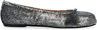 Maison Margiela Luxury Fashion Womens S58WZ0042P2768T9002 Silver Flats | Fall Winter 19